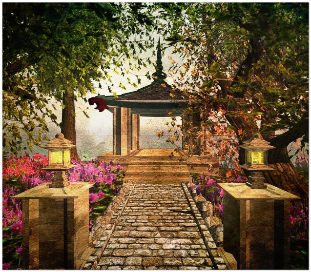 Kinkaku-ji Garden 1